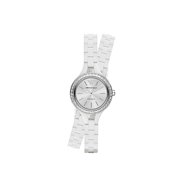 aa470a722 Emporio Armani AR1482 Classic White Ladies Ceramic Bracelet Watch