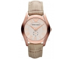 Emporio Armani Watches AR1670 Ladies Cream Beige..