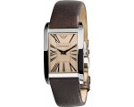 Armani Super ar2033 Slim Amber Dial Women's Watch
