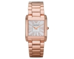 Armani Super Slim Mother-of-Pearl Dial Women's W..