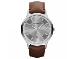 Pre Owned Armani AR2463 Mens Grey Brown Renato W..