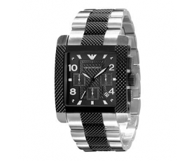 Emporio Armani Mens Sport Watch AR5842 Stainless Steel Strap