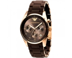 Emporio Armani ar5891 Ladies Silicon Strap Watch