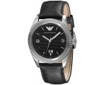 Emporio Armani Mens AR5893 Classic Leather Watch