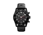 Emporio Armani AR5948 Mens Sports Black Luxe Chr..