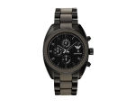 Emporio Armani AR5953 Mens Sports Black Luxe Chr..