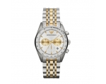 Emporio Armani AR6116 Men's Quartz Gold Two Tone..