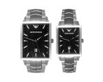Emporio Armani His & Hers Classic Watches - AR24..