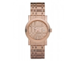 Burberry BU1866 Women's Rose Gold Tone Stainless..