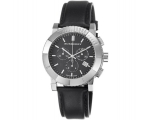Burberry BU2306 Endurance Mens Black Leather Strap