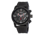 Burberry BU7701 Mens Endurance Black Chronograph..