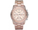 Fossil CH2707 Stella Large Aluminum Blush Watch