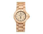 Wewood Watches Date Beige Watch
