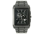 DKNY NY1376 - Mens Multi Function Black Ion Plat..