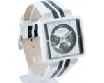 D&G Cream White Leather Mens Fashion Watch DW0066