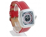 D&G Cherokee Red Leather Designer Mens Watch DW0..