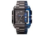 Diesel DZ1419 - Mens Black Dial Two Tone Bracele..