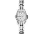 Armani Exchange Silver Dial Stainless Steel Ladi..