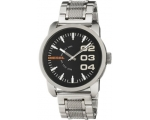 Diesel Black Dial Stainless Steel Mens Watch DZ1..