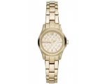Armani Exchange Hampton Yellow Gold Ion-plated L..