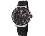 Tag Heuer Formula 1 Chronograph Black Rubber Men..
