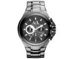 Armani Exchange AX Grey Dial Grey Ion-pated Mens..