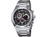 Casio Chrono Stainless Steel Bracelet Mens EF-52..