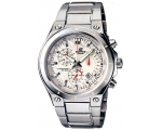 Casio Collection Black Chronograph Men' s EF-526..