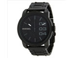 Diesel Black Textured Steel Mens Watch DZ1371