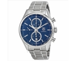 Tag Heuer Carrera Blue Dial Mens Watch CAR2115.B..