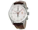 Tag Heuer Carrera Calibre Silver Dial Mens Watch..