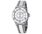 Tag Heuer Formula 1 Diamond Accented White Ceram..