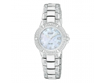 Citizen E60E234 Co-Drive Ladies White Ceramic & ..