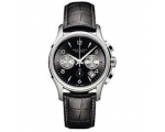 Hamilton Men's H32656833 Jazzmaster Black Chrono..