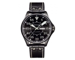 Hamilton Men's H64785835 Khaki King Pilot Black ..