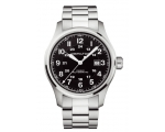 Hamilton Men's H70625133 Khaki Officer Black Dia..