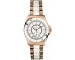 Guess Gc Ladies Rose Gold-Plated Bracelet Watch ..