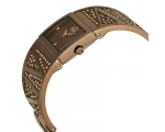 Armani Exchange Brown IP Stainless Steel Bangle ..