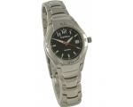 Krug Baumen 040436KL Ladies Sentinal Black Steel..