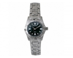 Krug Baumen - 120584DL Ladies Desire Black Steel..
