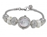 Accurist Charmed Ladies' White Delight Charm Wat..