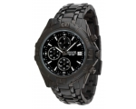 Accurist MB837 Mens Sports Black Ion Steel Watch