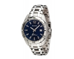 Accurist Men's Navy Dial Stainless Steel Bracele..