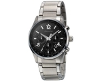 Accurist Men's Black Dial Chronograph Bracelet W..