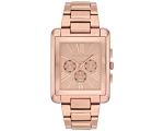 Michael Kors Bradley Slim Chrono Rose Gold-tone ..