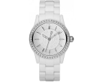 DKNY Watches NY8011 Ladies Crystals White Watch