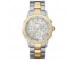 DKNY Ladies Gold & Silver Chronograph Watch NY8061