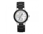 DKNY Ladies Black Chronograph Watch NY8064