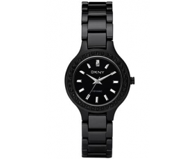 8331702ba56 DKNY Watches NY8142 Ladies All Black Ceramic Watch