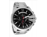 Diesel Chief Chronograph Black Dial Stainless St..